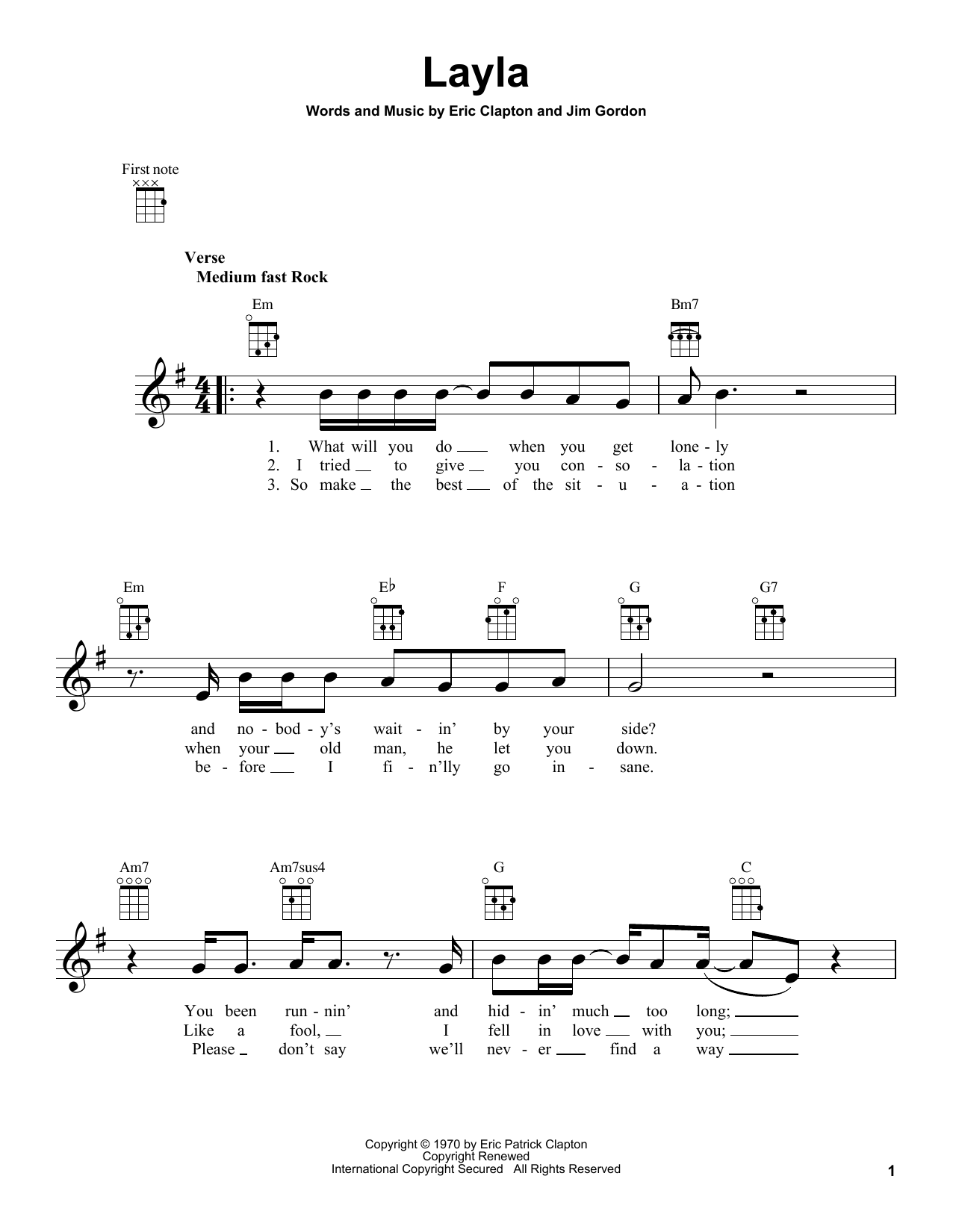 layla guitar tab pdf