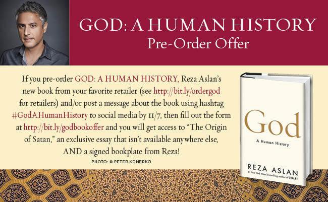 god a human history pdf reza