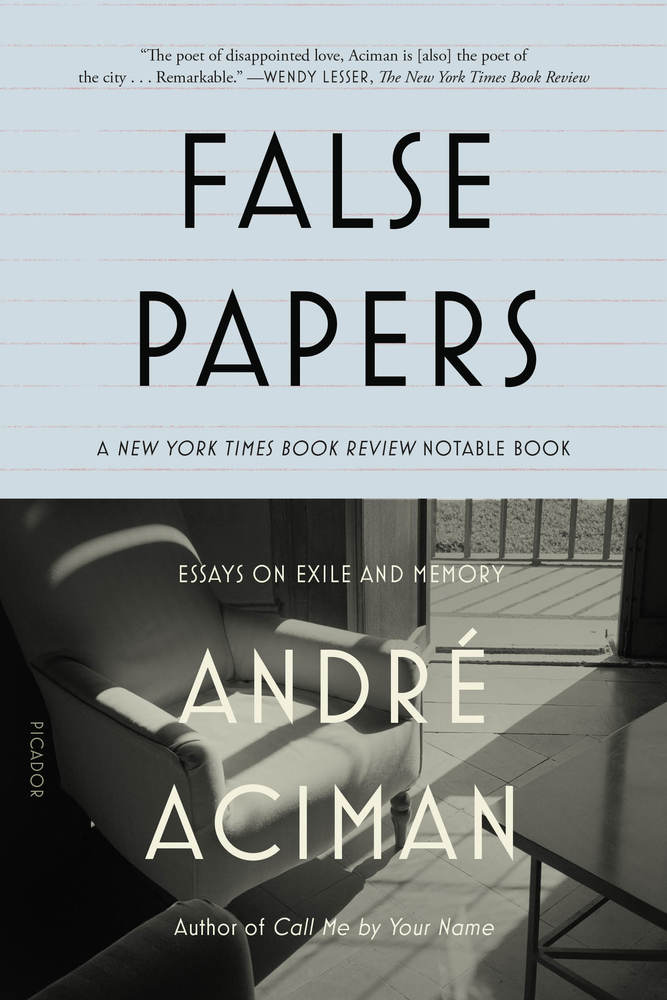 false papers andre aciman pdf