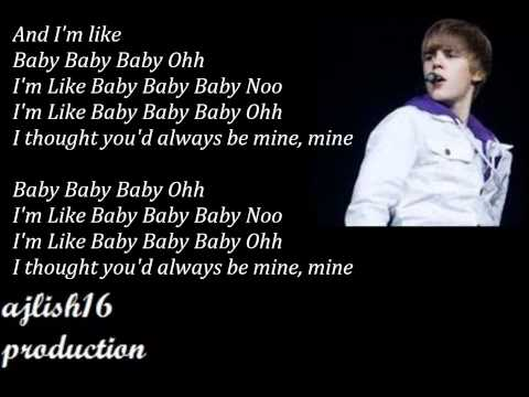justin bieber baby lyrics pdf free download
