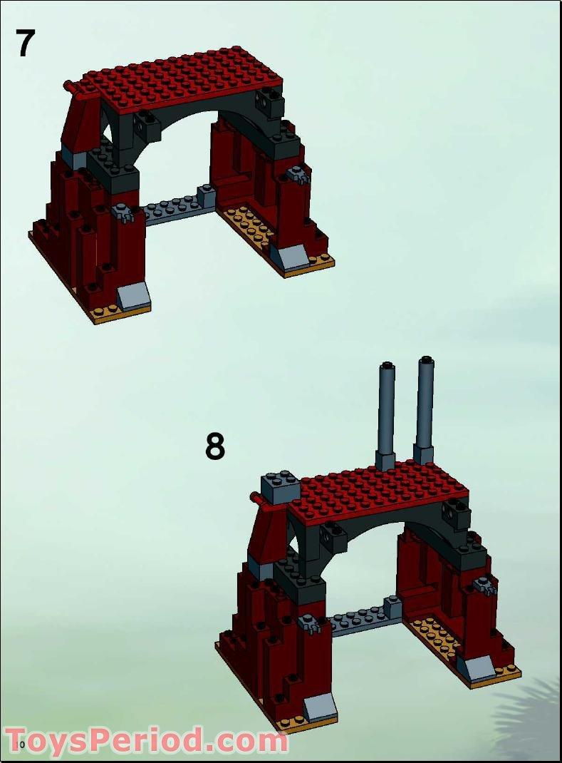 lego cave instructions