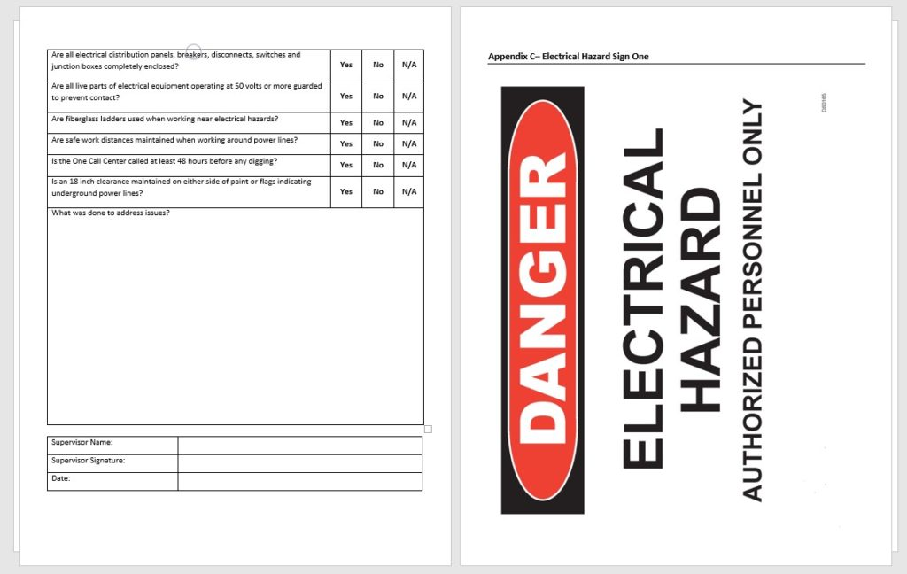 electrical safety regulations pdf as if january 2019