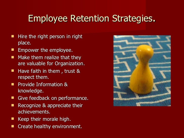employee retention strategies and organizational performance pdf
