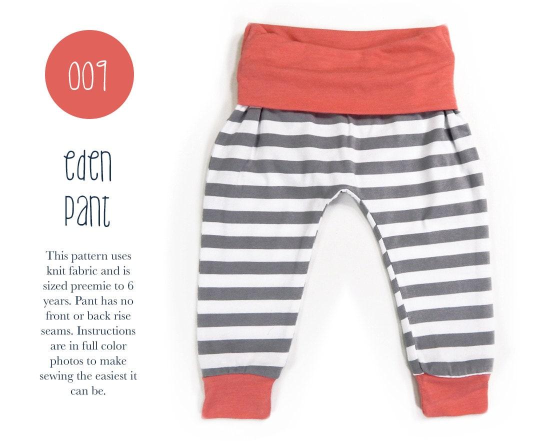 free baby pants pattern pdf