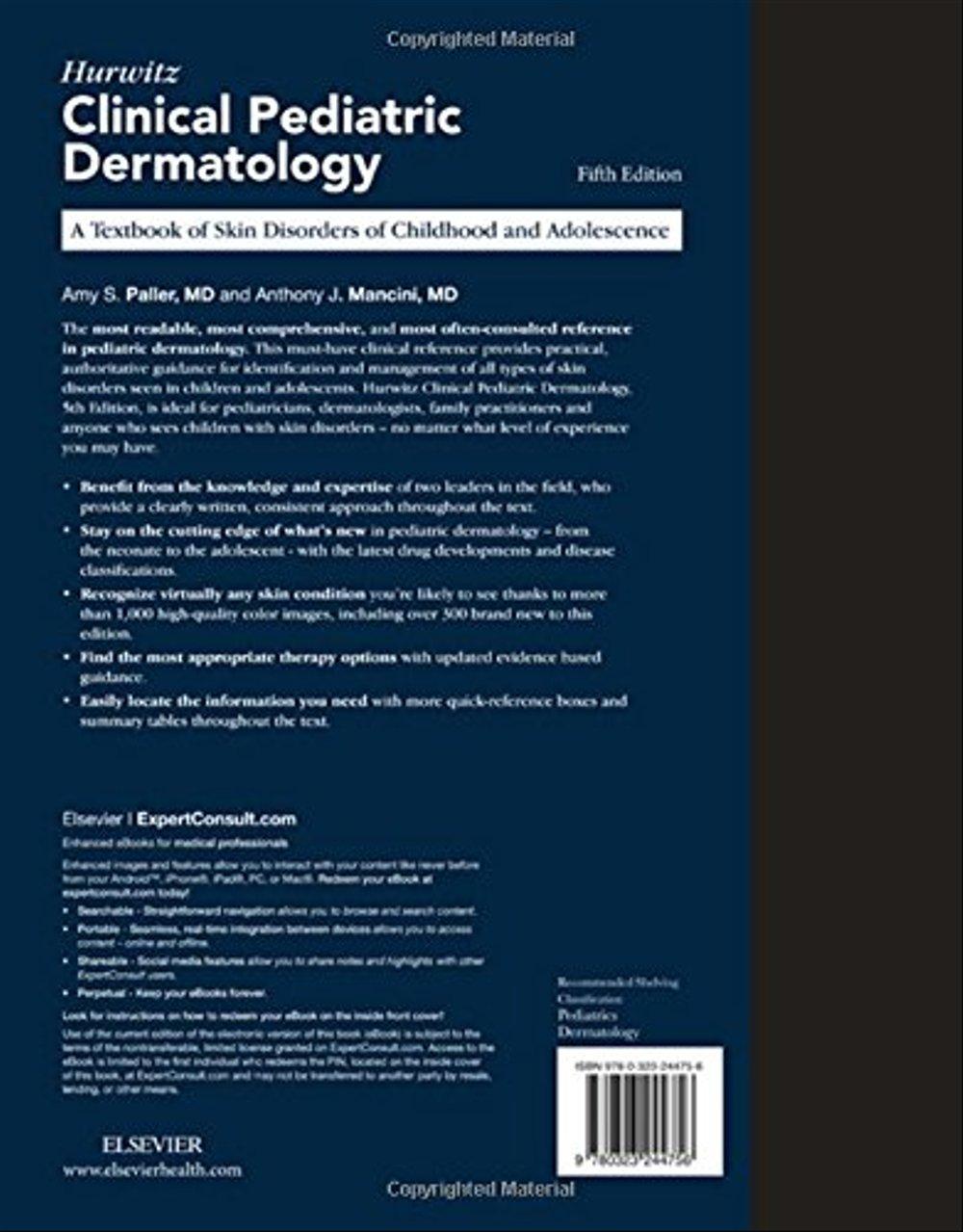 hurwitz clinical pediatric dermatology 5th edition pdf