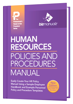 hr policies and procedures manual doc