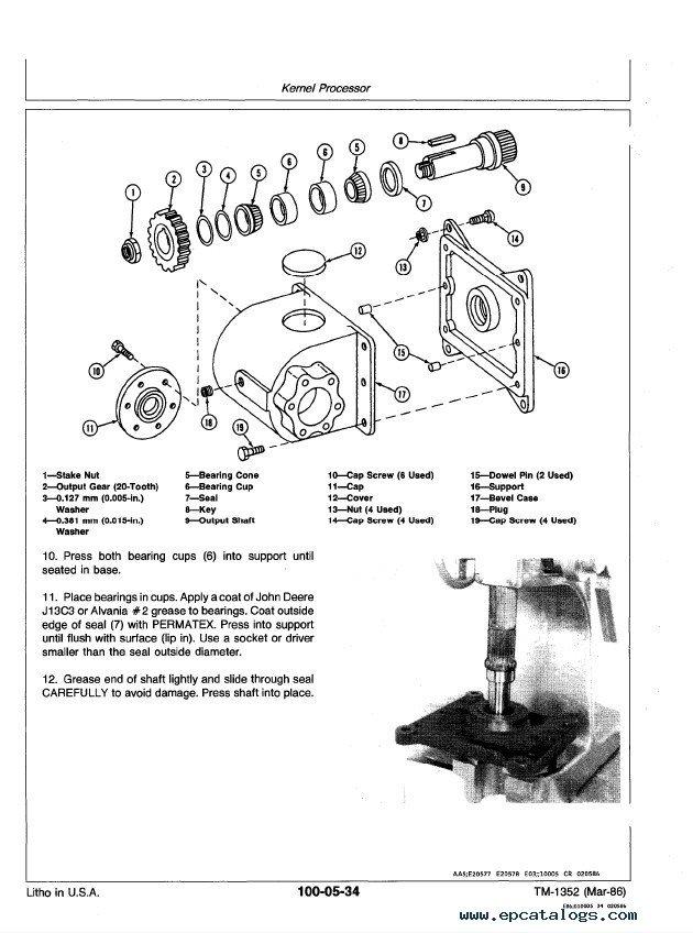 john deere 5830 manual