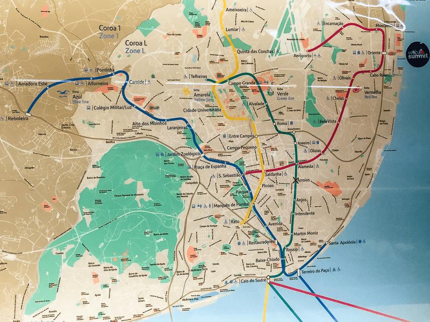 lisbon metro map 2018 pdf
