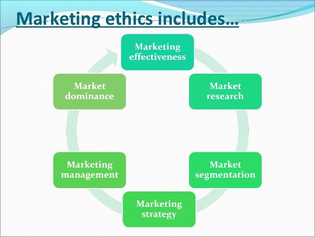 ethics in marketing pdf