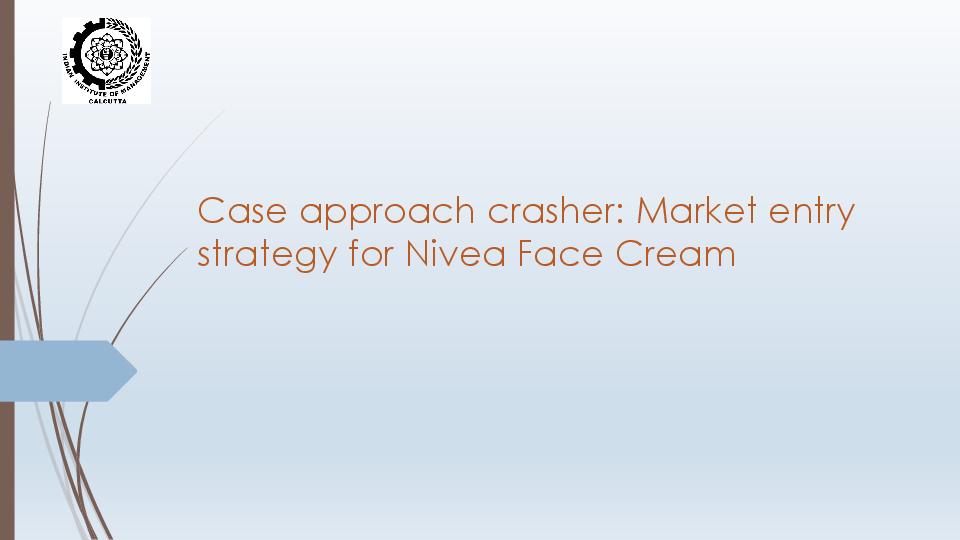 market entry strategies pdf
