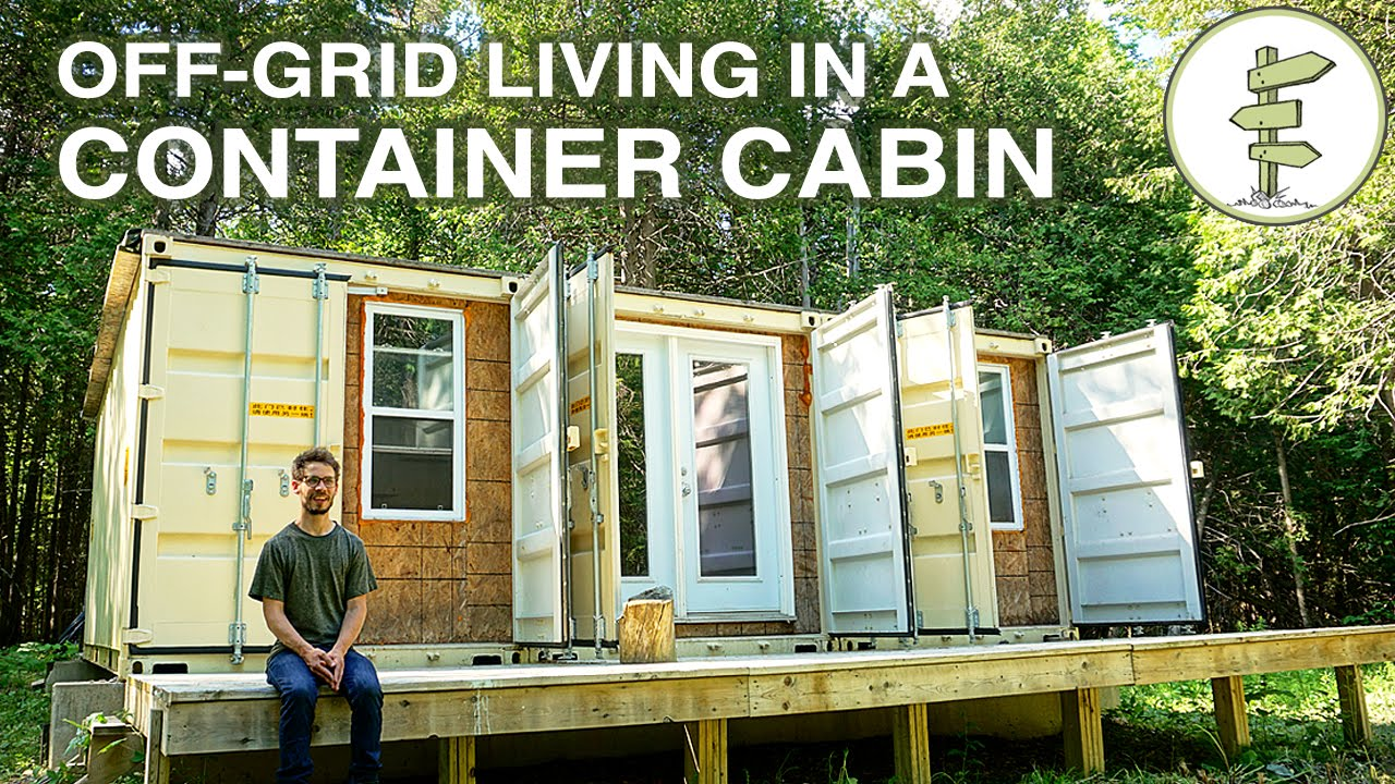 how to build off grid shipping container house pdf