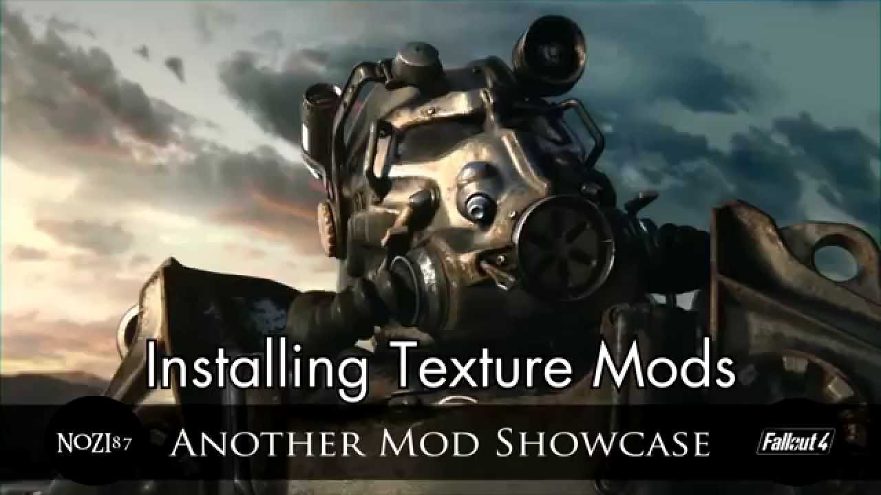 manual install fallout 4 mods