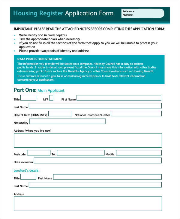 government housing subsidy application form kzn