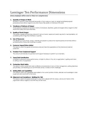 lominger competencies pdf