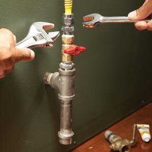 gas pipe installation guide
