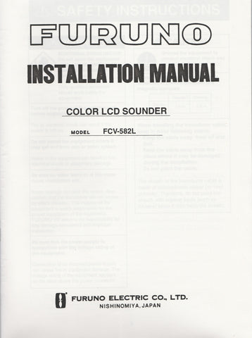furuno sounder manual