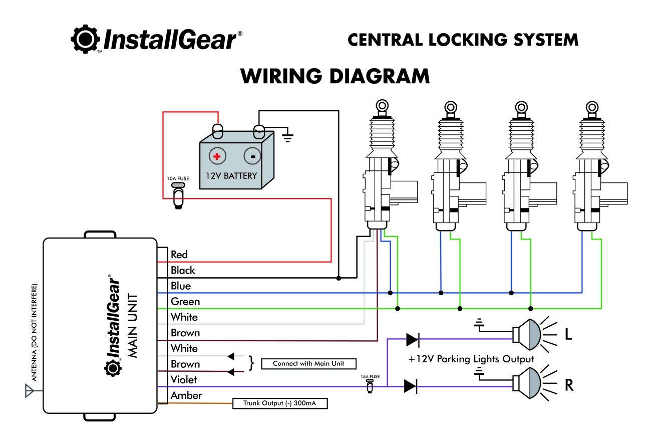 how to install car alarm system pdf