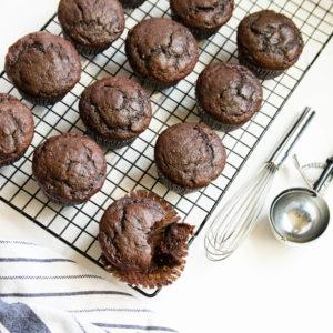 healthy food guide banana muffins