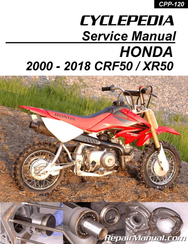 honda crf 100 service manual free download