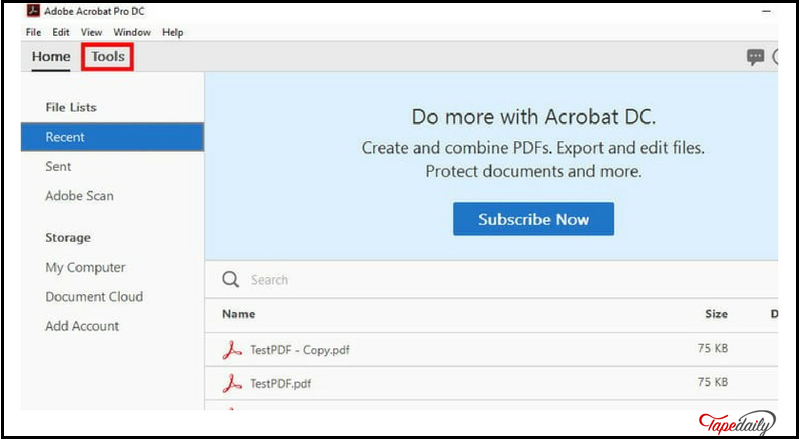 how to combine different pdf files in one file