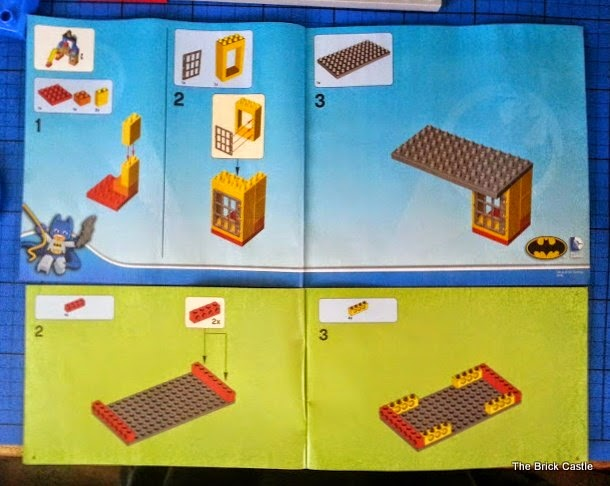 lego booklet instructions old