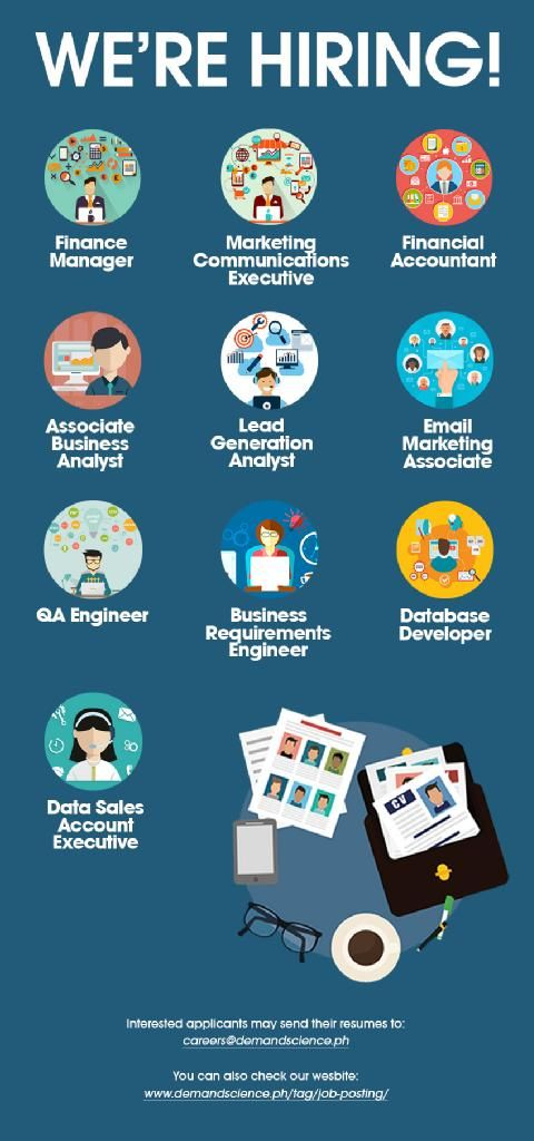 job application ad ideas
