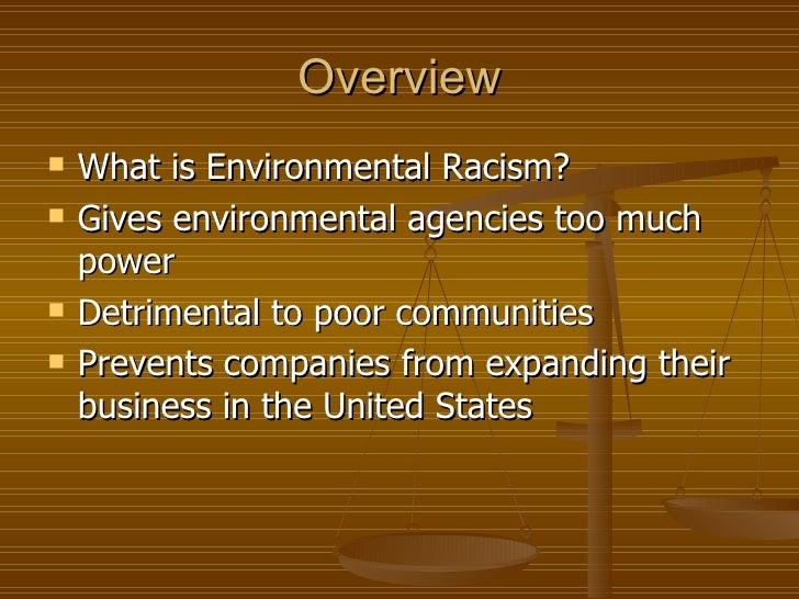 environmental racism pdf