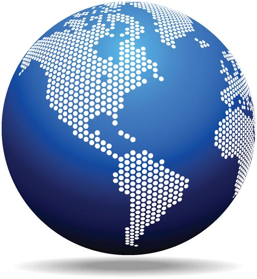 globe template pdf