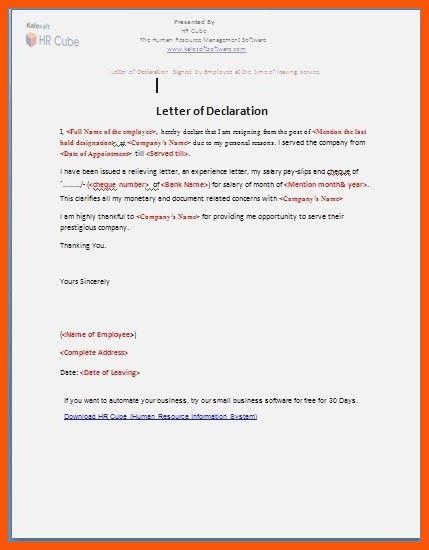 halal declaration letter sample