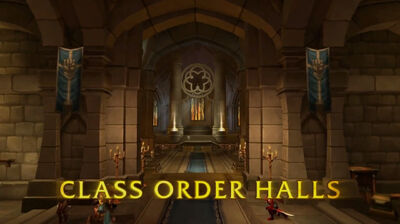 guide for your order hall class set