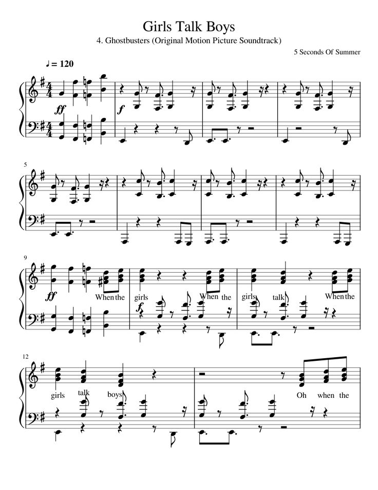 ghostbusters theme song piano sheet music pdf