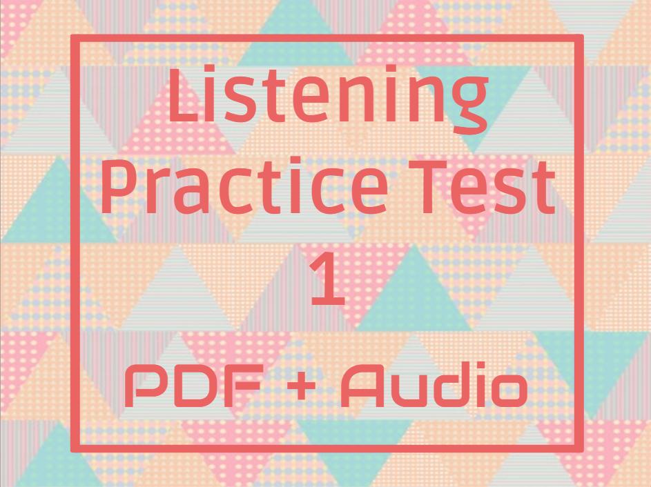 ielts listening practice test 2017 pdf
