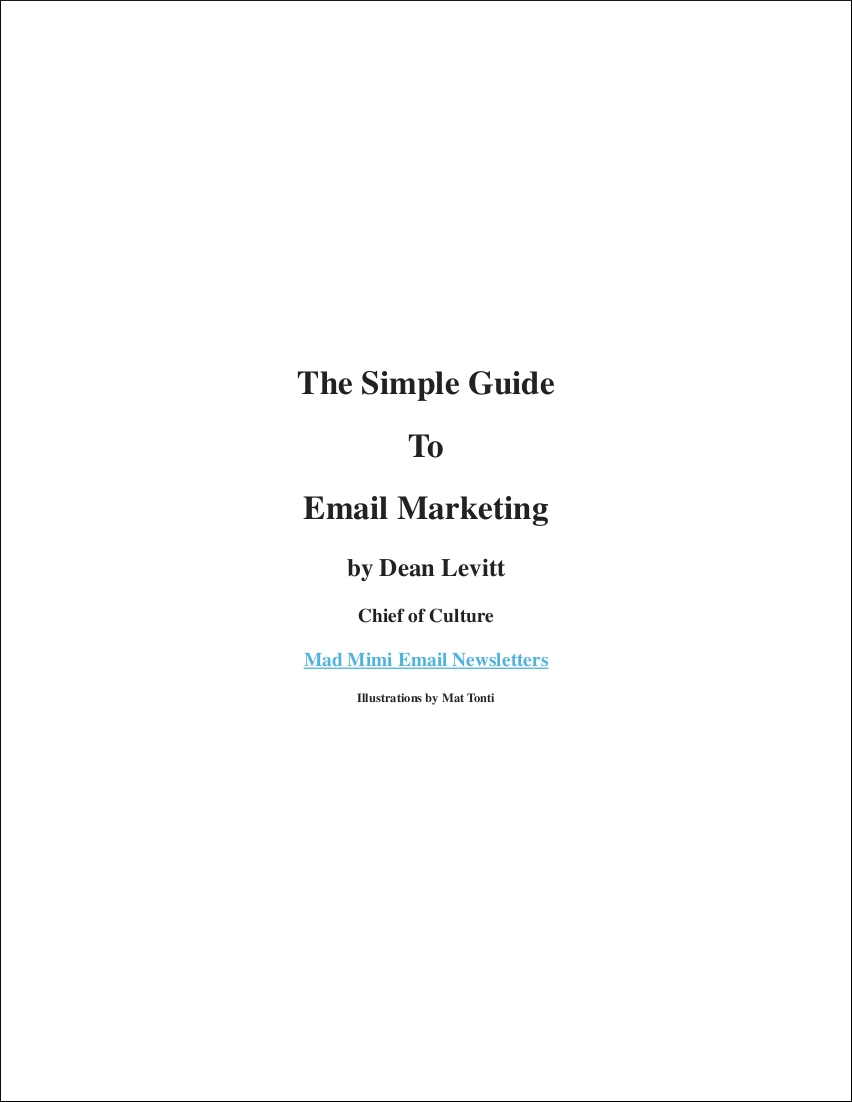 email marketing definition pdf