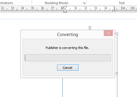 how to sdave a publisher file as a pdf