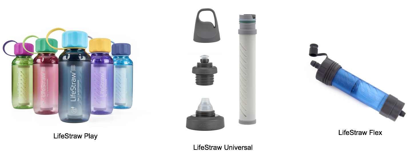 lifestraw bottle first use instructions