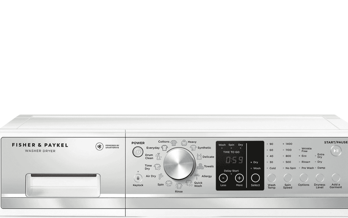 fisher and paykel washer dryer combo manual