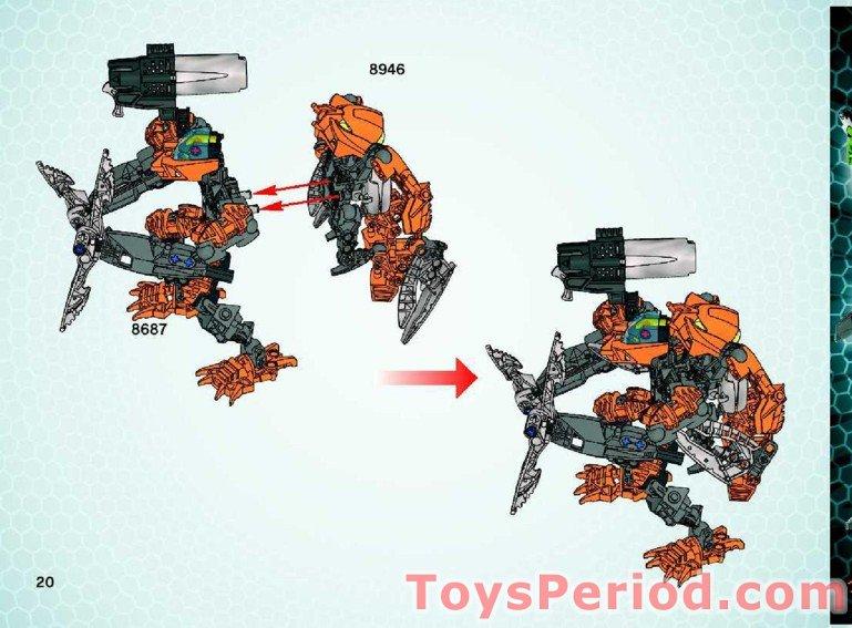 lego phantoka instructions