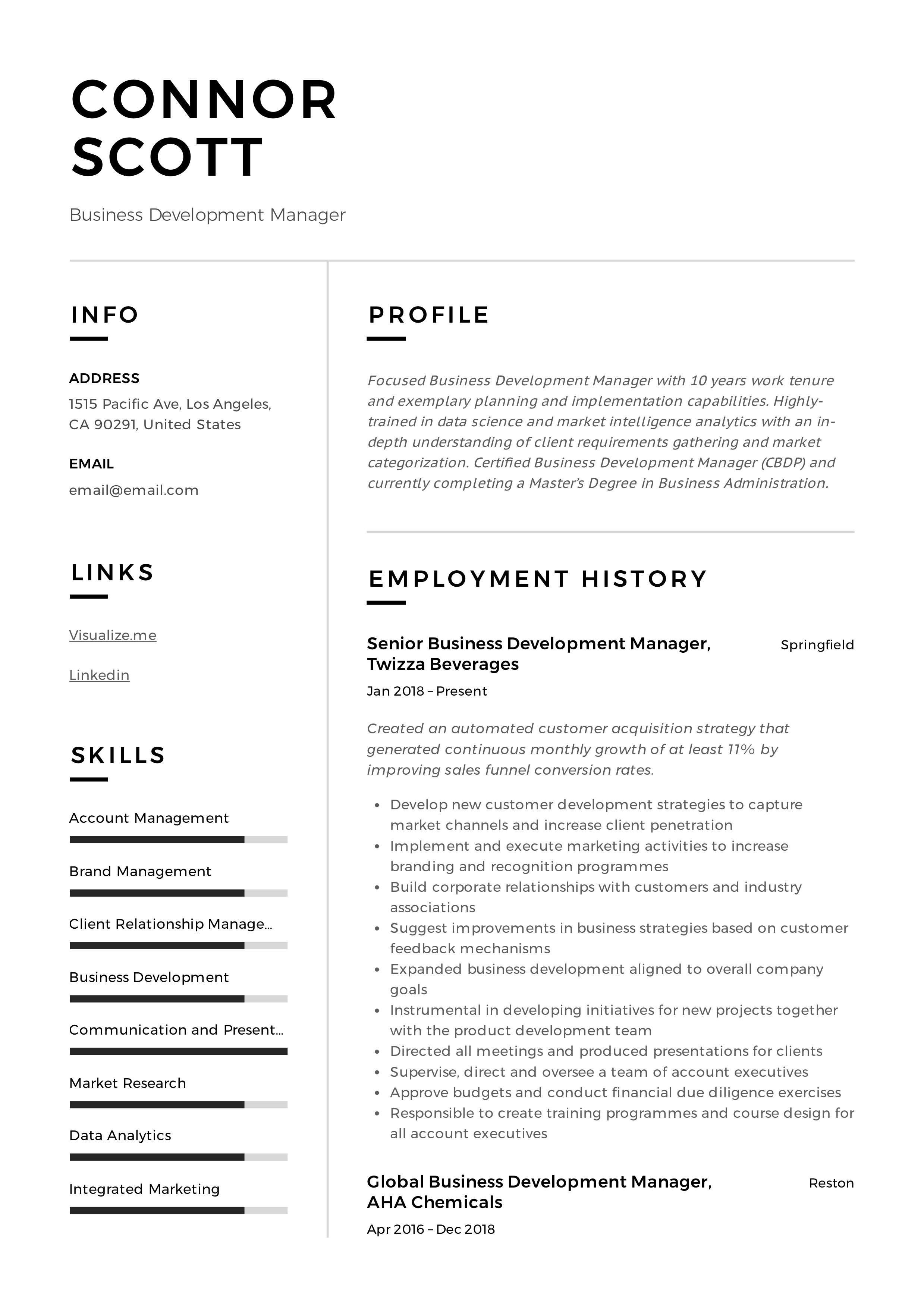 manager guide to business development