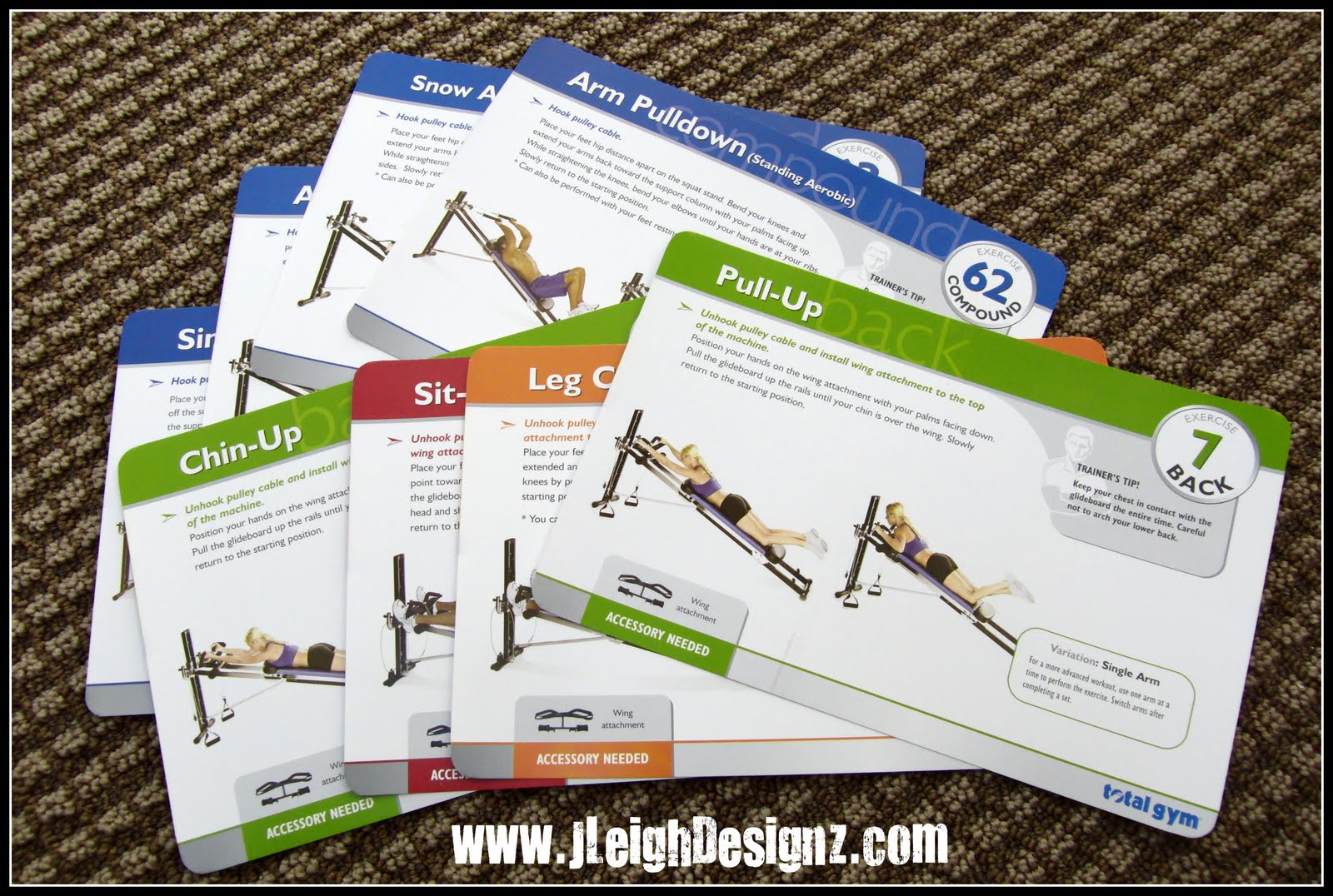 exercise cards pdf