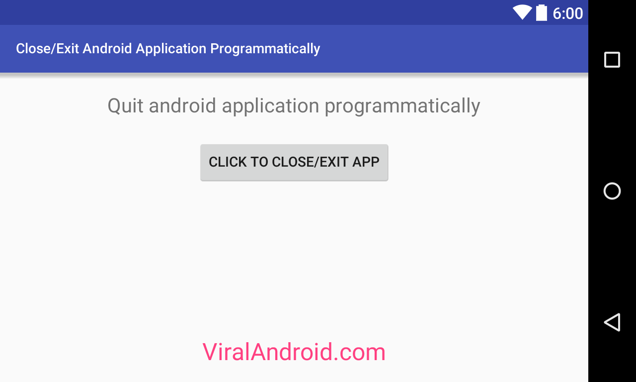 exit thread when application is closed