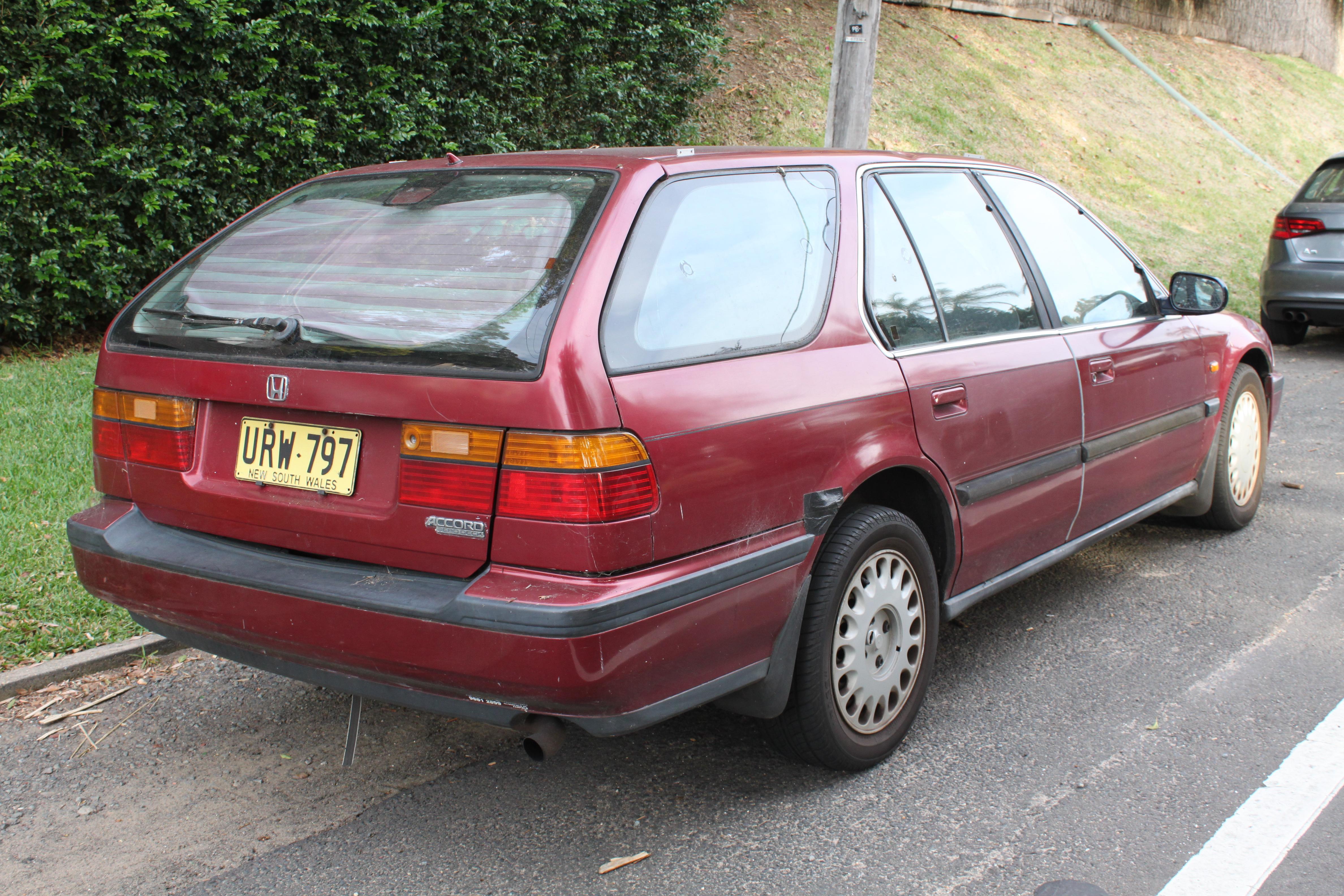 honda accord station wagon 2004 manual
