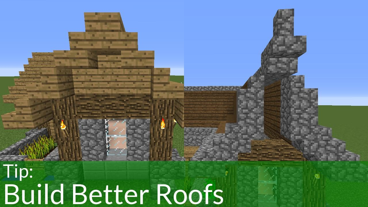 guide to roof building minecraft