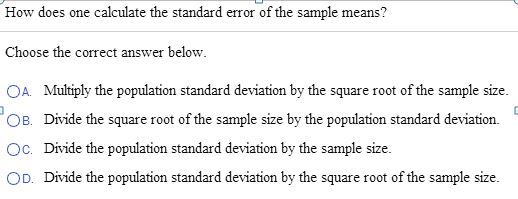 find sample mean
