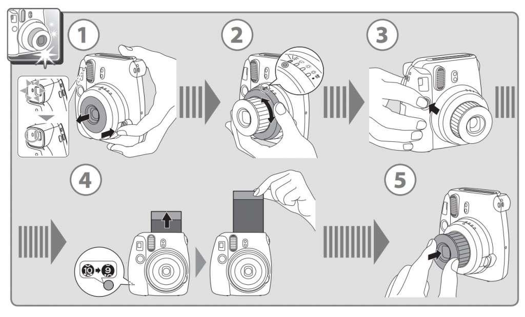 fujifilm instax mini 8 instructions