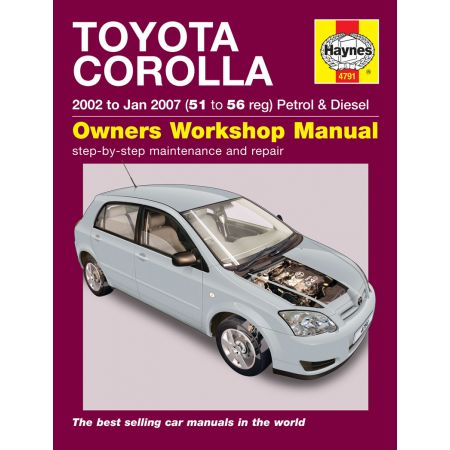 haynes manual toyota corolla 1998