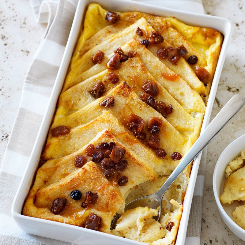 healthy food guide bread and butter pudding