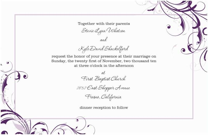 how to decline wedding invitations gracefully sample