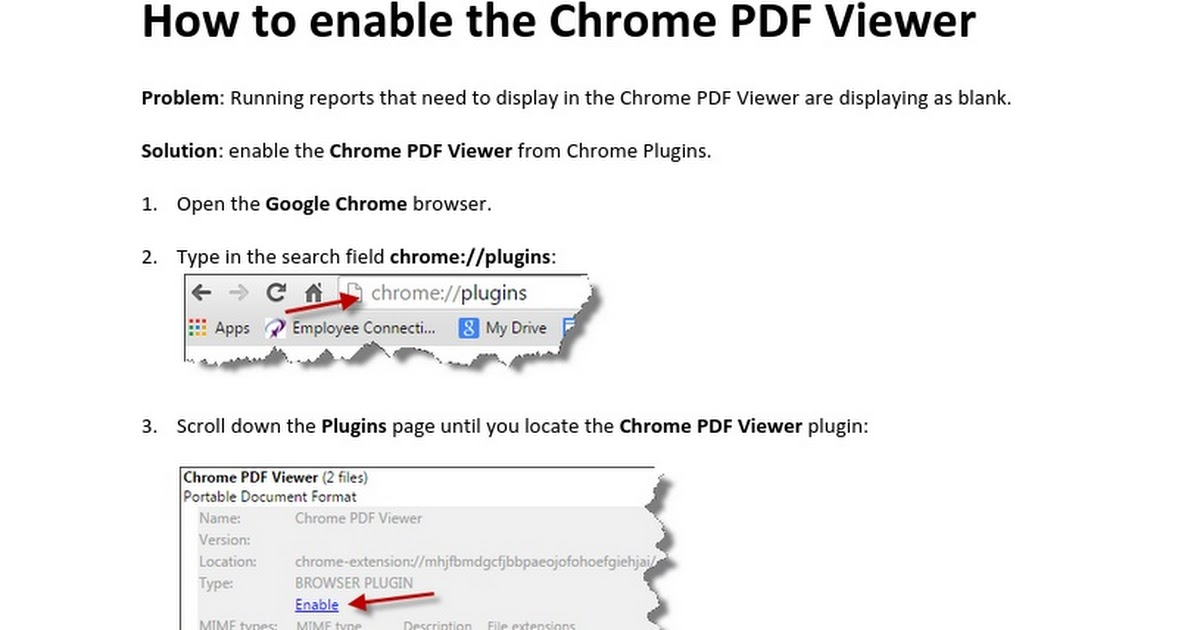 how to enable pdf viewer in chrome