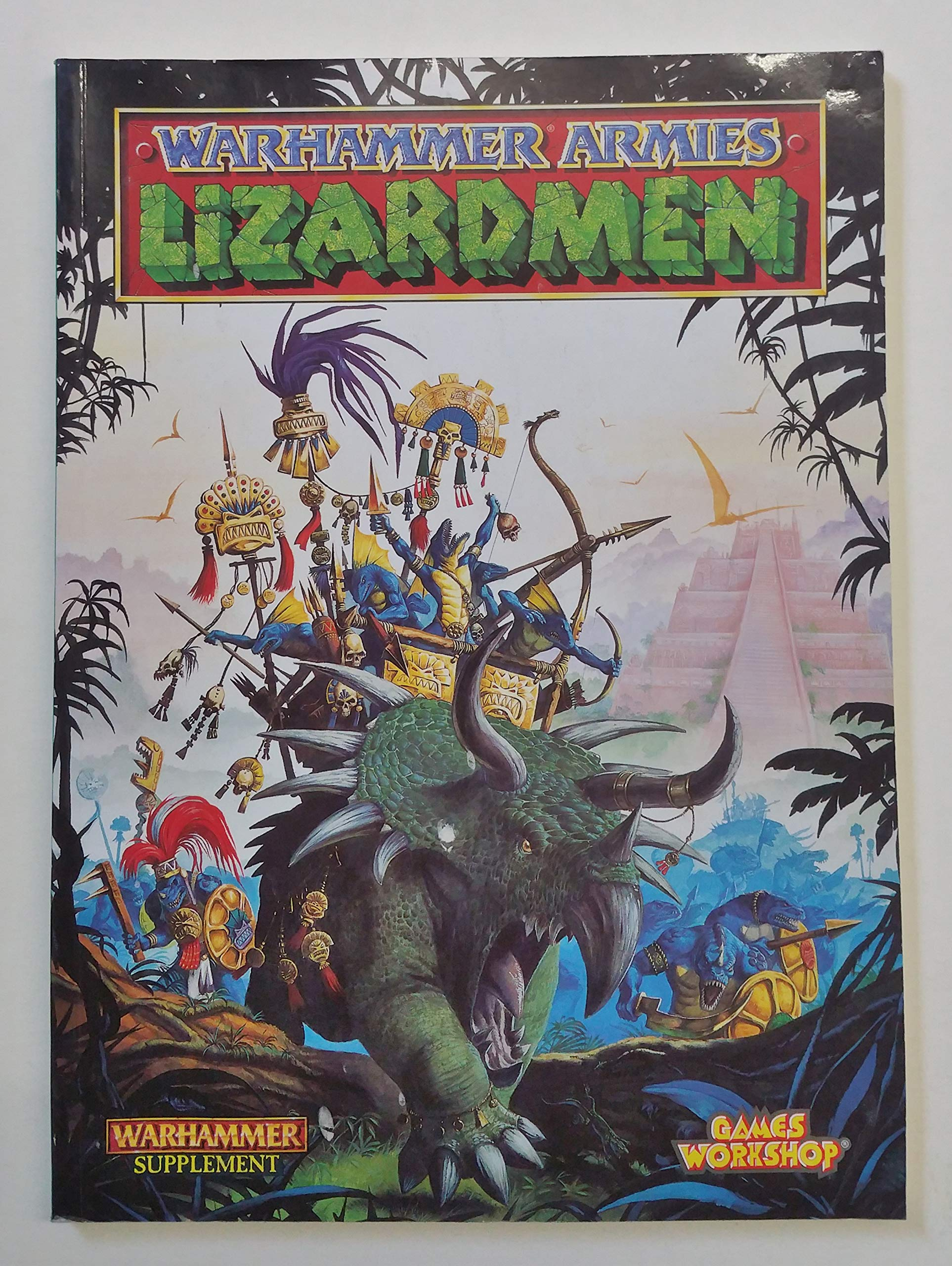 how to paint lizardmen pdf