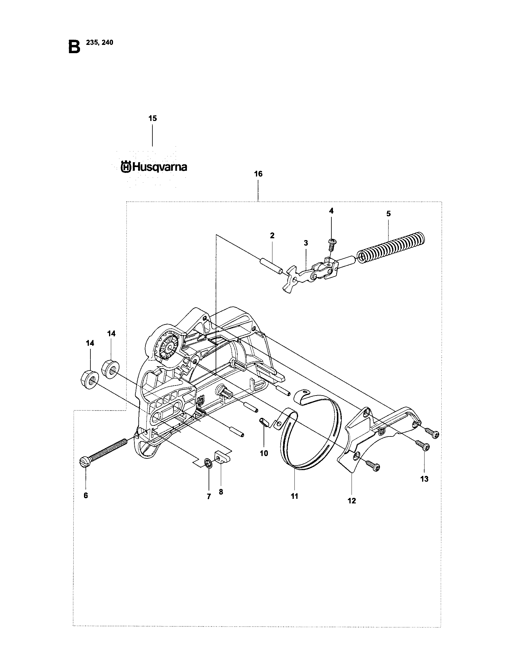 husqvarna 240 chainsaw service manual
